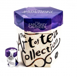 Herbata Earl Grey z lawendą , Sri Lanca, Certyfikat Bio, Jedwabna saszetka 30 szt x 2g Art of tea collection